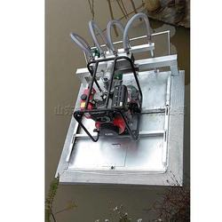 14HP Gasoline boat lotus root excavator pond floating lotus