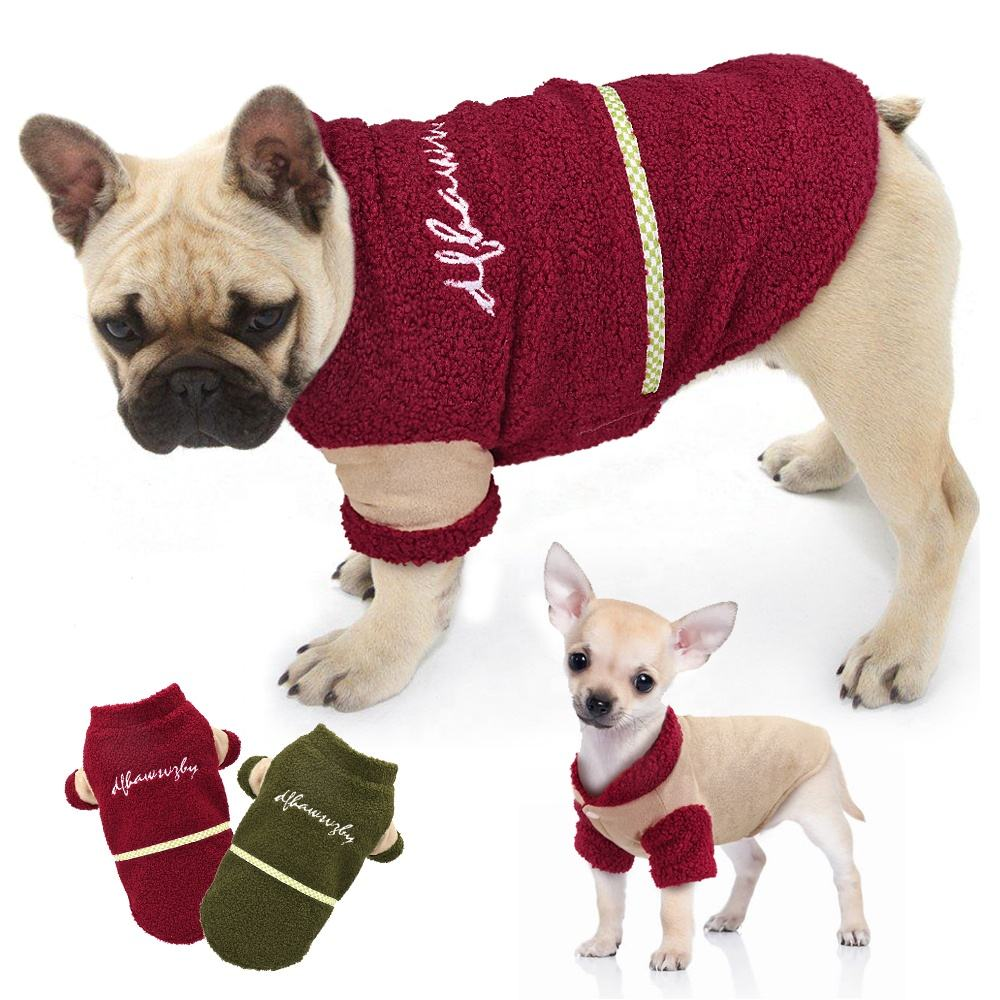 Berry New Item Soft Comfortable Warm Reversible Jacket Pet Dog Clothes