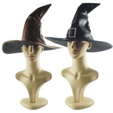 Halloween witches hat vintage wizard hat wizard hat movie-video performances COS dress up harry hair accessories