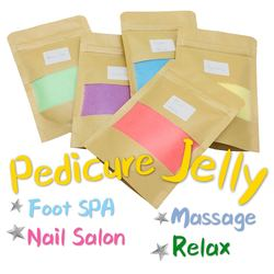 Rose Green Tean Chamomile Lavender Crystal Mud For Pedicure Service Salon Exfoliating Scrub Relax Foot Jelly SPA