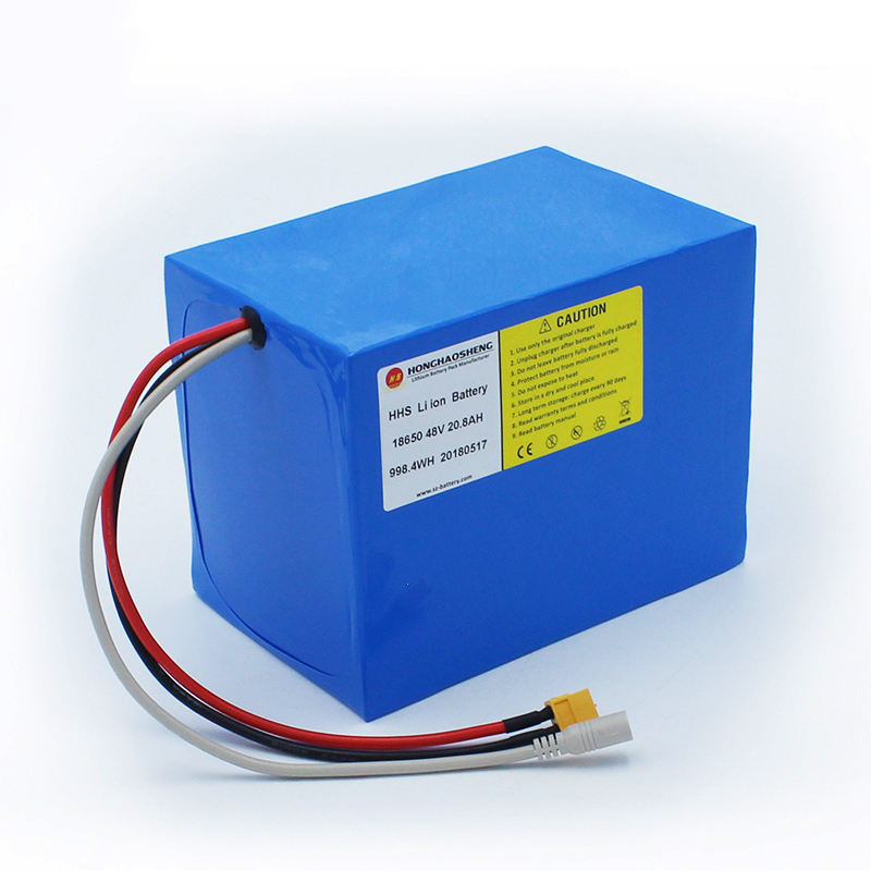 Rechargeable 48v Lithium ion battery pack 30Ah for 48v 1500w motor