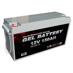 12V 150Ah Rechargeable Solar Deep Cycle Battery Bank Charger