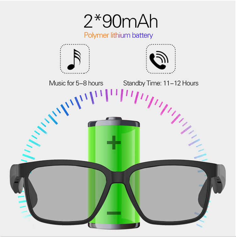 HOT SALE ! Bluetooth Sunglasses wireless Headset Earphone Hands-free Phone Call Sunglass For phone