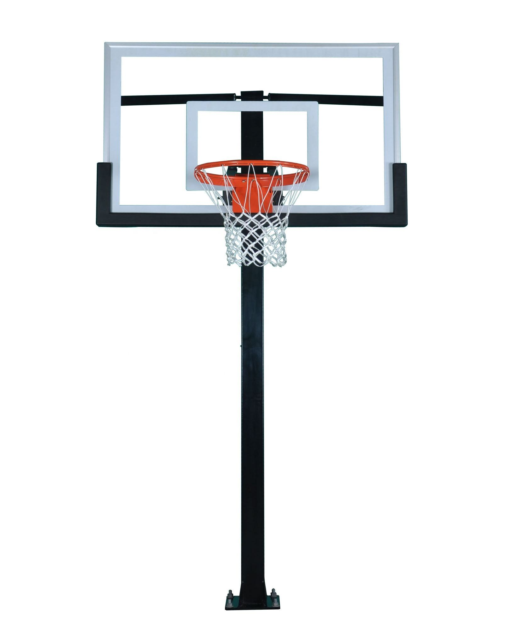 CV72S Ring <span class=keywords><strong>Basket</strong></span> IN-GROUND Awet dengan BACKBOARD 72 Inci