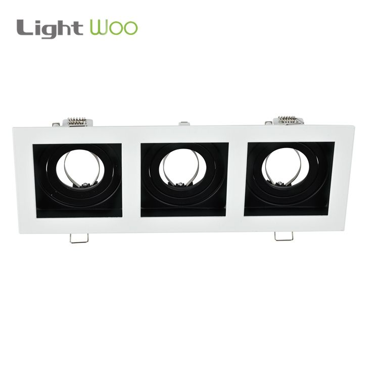 2020 hot sales surface mounted square GU10 MR16 Spotlight Housing Downlight fixture