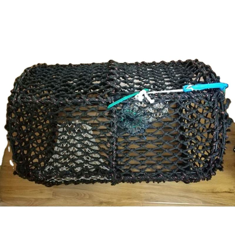 High quality black Netting Aquaculture Lobster Trap Creel
