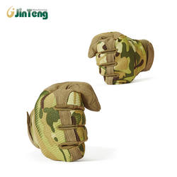 US Market Army Camouflage Tactical Gloves Men Breathable Multicam Paintball Military Gloves Bicycle Shoot Full Finger Gloves