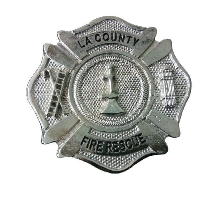 Old La County Fire Department Badge Fireman Custom Made Reproduction Best Quality Wholesaler Supplier