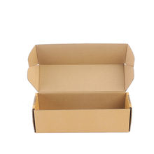 Cheap factory supply 3ply brown corrugated carton box logistics corrugated cardboard boxes