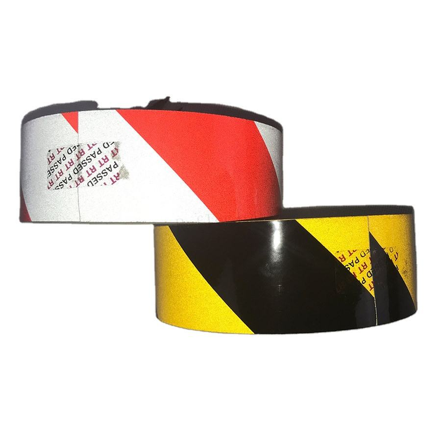 Double Colour PET Reflective Hazard Warning Film for Traffic Sign