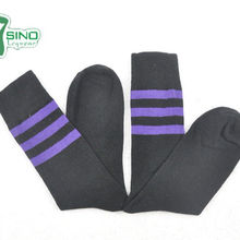 Wholesale custom office simple mens dress socks