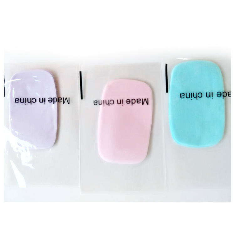 traveling portable soluble disposable hand wash paper soap sheets