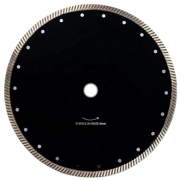 230mm 9 inch super thin turbo diamond saw blade for cutting concrete tile