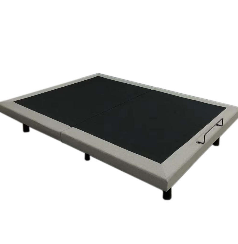 Intelligent electric lift remote control folding multifunctional massage table crescent club bed