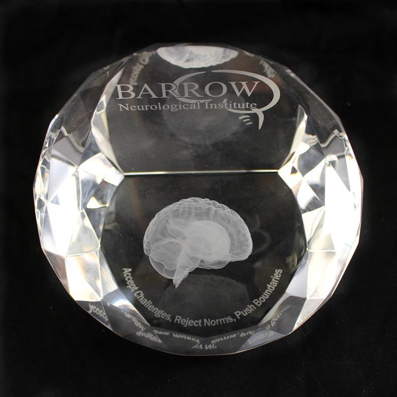 crystal clear paperweight/High Quality Crystal Glass Paperweights / hot sell customized 3d laser crystal paperweight