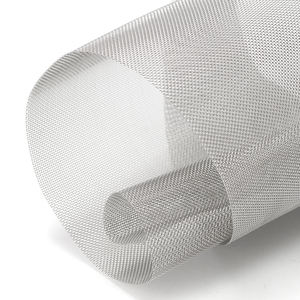 AISI SUS 304 316 316L 310 Ultra Fine Square Tenun 25 50 100 200 300 400 500 Micron Stainless Steel Wire Mesh