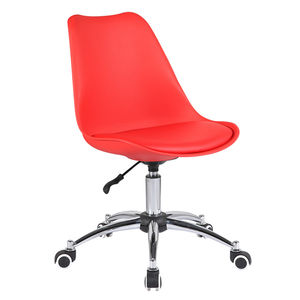 2020 Modern style red color office furniture swivel adjustable chair office swivel modern office chair