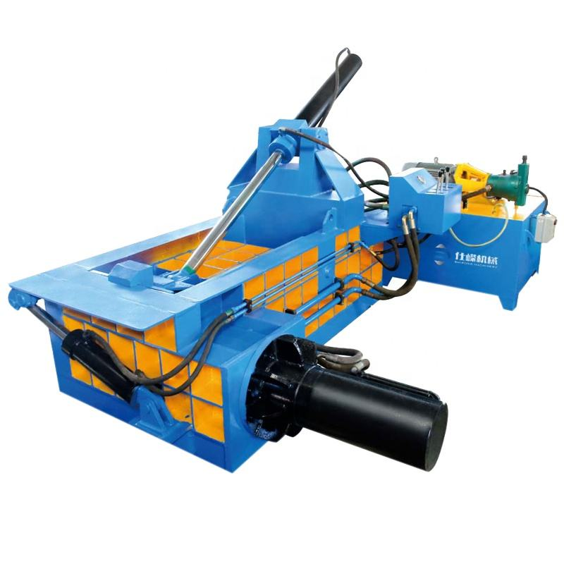 Hot sale small size 63t waste metal hydraulic scrap car balers, aluminum cans baling machine