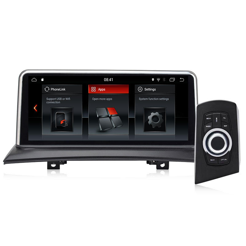 KLYDE KD-1260 Android Car Multimedia System Bluetooth Car Radio For BMW X3 E83 2005-2008 without original lcd screen