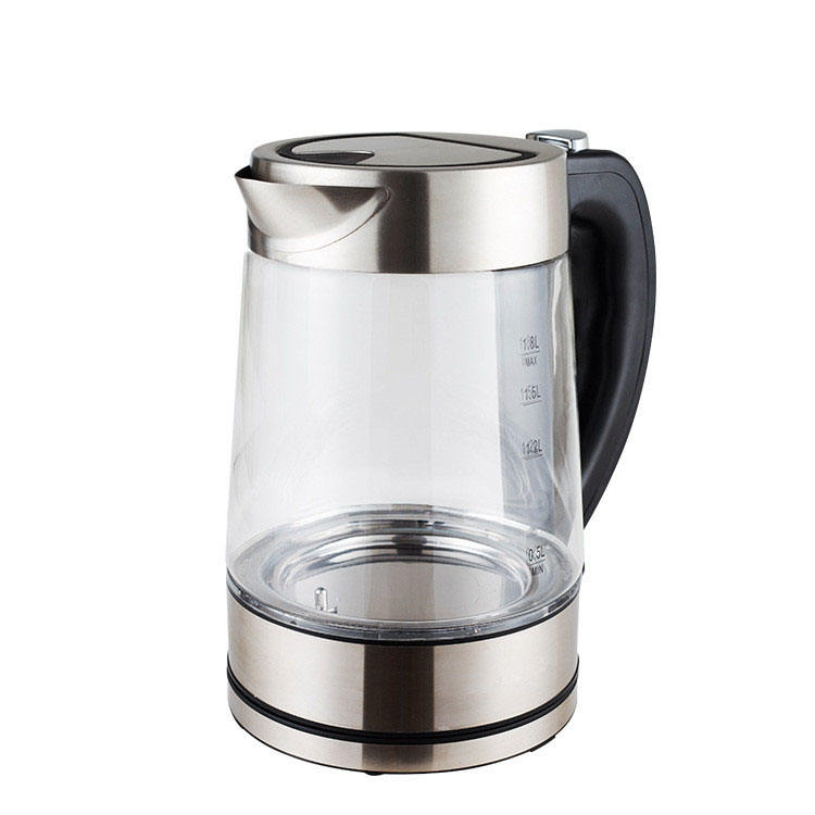 Hot Selling Digital Electric Kettle Home Appliance 1.8l High Borosilicate Glass Smart Kettle