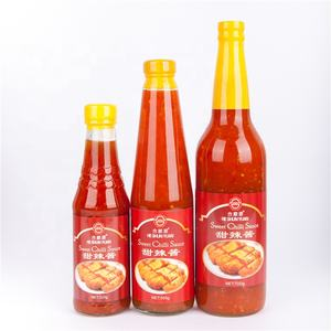 Free Sample 320g sweet and spicy taste Thai Style Hot Sweet Chilli Sauce