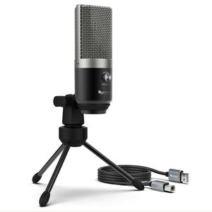 Fifine Metalen Usb Microfoon Opname Condensator Microfoon Voor Laptop Windows Streaming Broadcast Studio Microfoon Stand