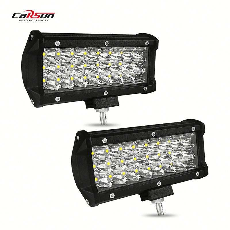 Car Led Light High-Power 72W Square 24 High-Quality LED Off-Road Vehicle Inspection Spotlights Car Led Light