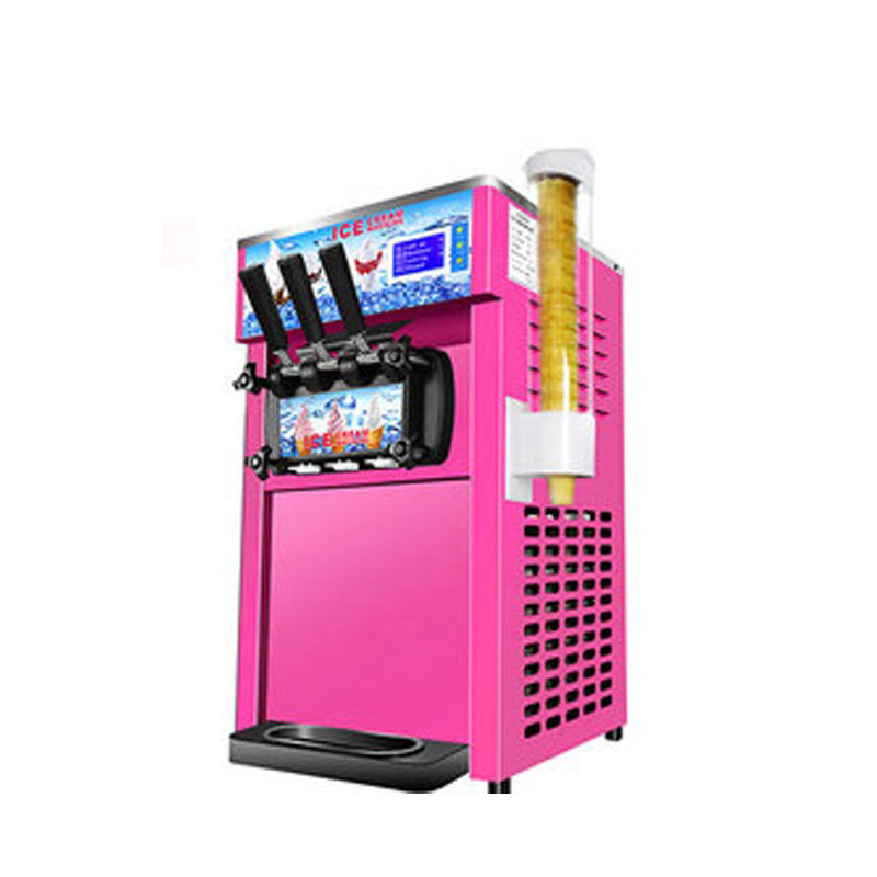 Table塩Ice Cream Making Machine、Cafeteria Electro Freeze Table- Top Ice Cream Ball Making Machine