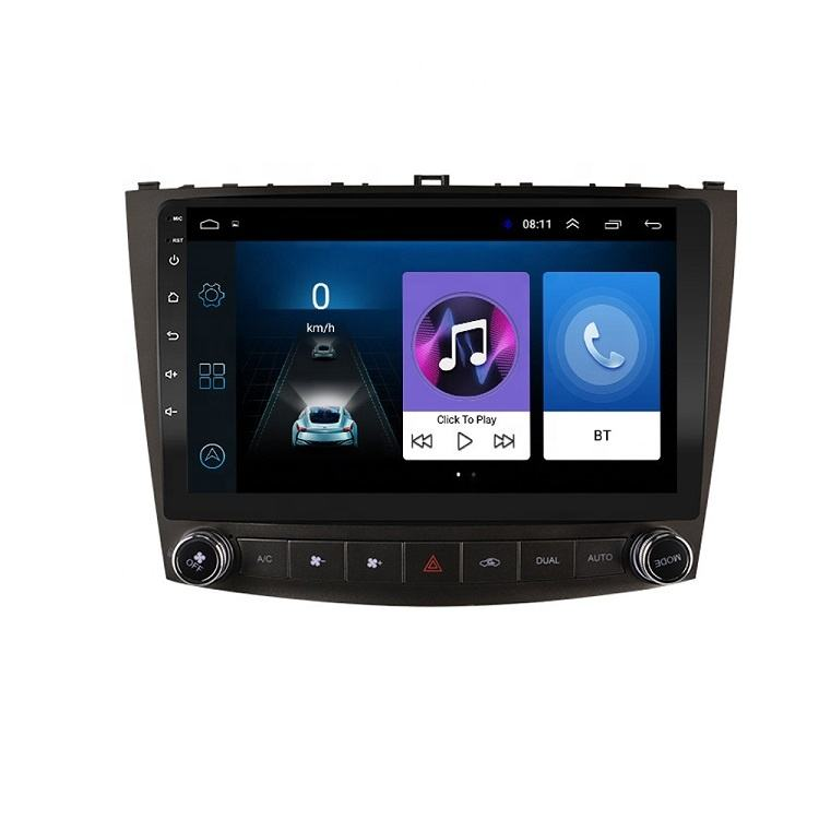 10.1 inch Android 8.1 2 Din Car Multimedia Stereo Player for Lexus IS250 IS200 IS220 IS300 2006- 2012 Navigation GPS Radio