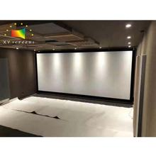 xy screen 100inch  sound max 4k  Woven Acoustic Transparent movie projector screen