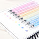 8 Colorful Elfinbook Magic Disappearing invisible Removable ink Erasable Frixion Pen