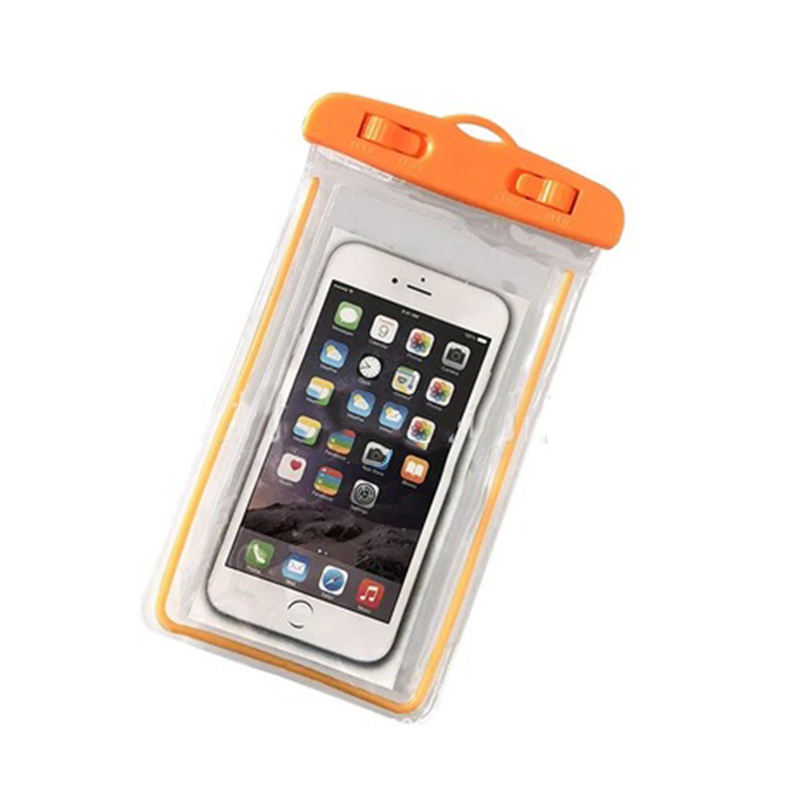 Universal Water Proof PVC Mobile Phone Cases Pouch Waterproof Bag Water Proof Cell Phone Bag With Lanyard