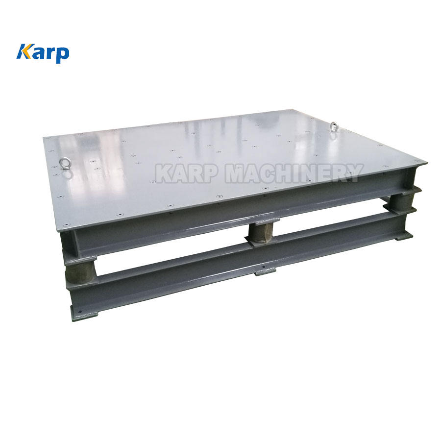 Materials compaction and densification use mold vibrating table