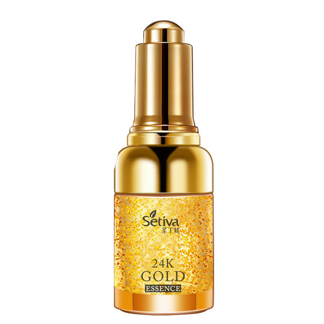 Private label skin care Organic skin care Stem cell 24K Gold serum anti aging 30ml Anti wrinkle serum