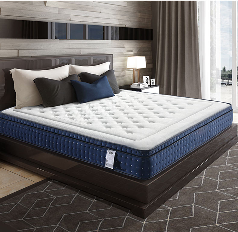 Spring Mattress Popular Product On Amazon Comfort Elastic 5 Star Cheap Hotel Sleep Well Memory Foam Pocket Spring Orthopedic Mattress