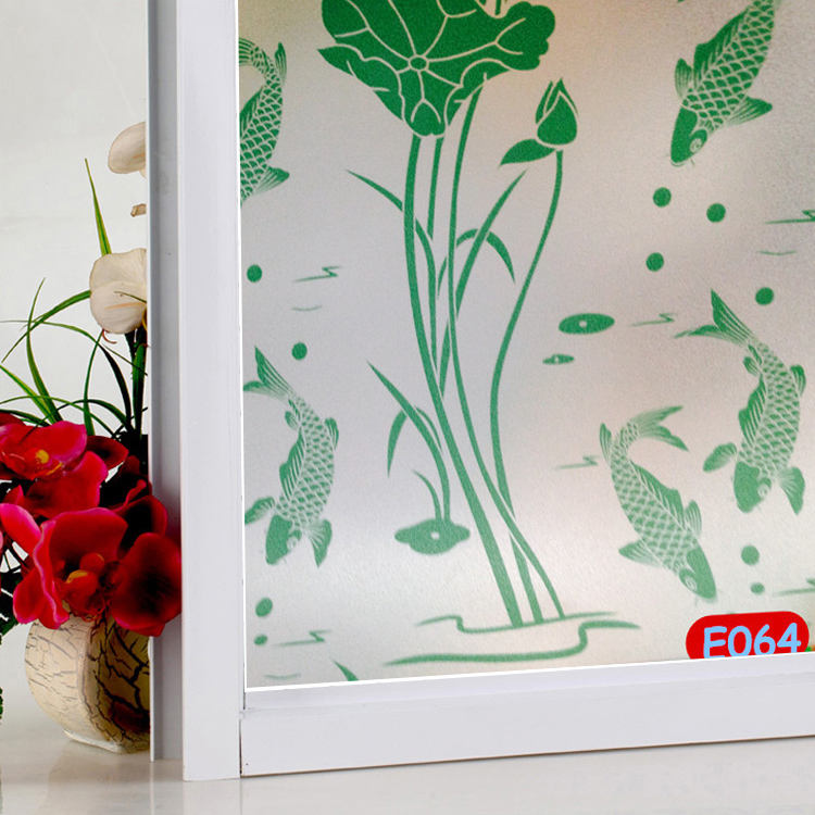 Window Films Folie Stickers Frosted printing Glas PVC Zelfklevende Thuis