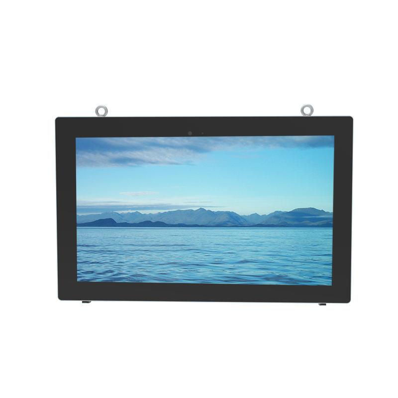 55 inch impermeabile Esterna Capacitivo dello schermo di tocco di lettore multimediale A CRISTALLI LIQUIDI di pubblicità TV