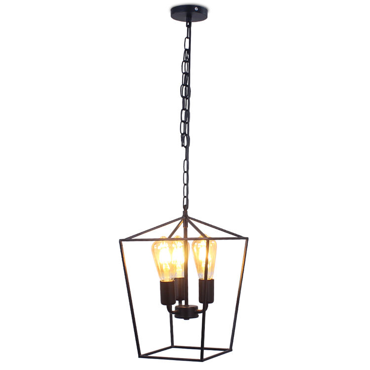 2020 Brand New Pendant Light Iron Chandeliers Modern Luminaire Suspension Black Lamp for Kitchen Island Dinning Room VC024