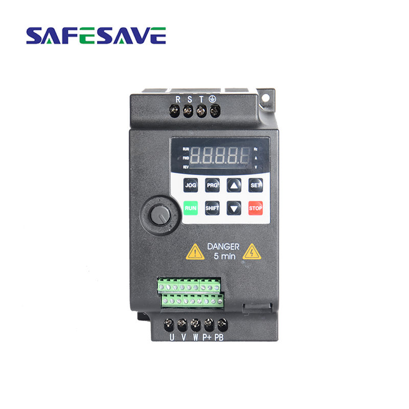 Vector control 220v 2.2kw 3hp 4kva vfd einphasig eingang converter 50/60hz ac variable frequenz stick