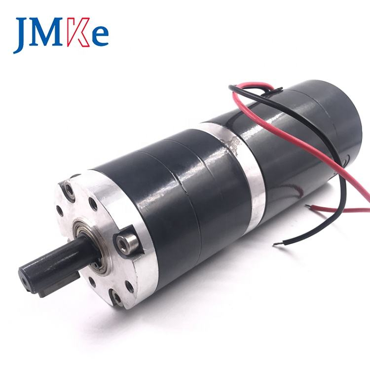 JMKE GX60R60S High Quality 60mm Planetary Gear Motor DC Motor 24V Brushed Planetary Reduction Gear Motor