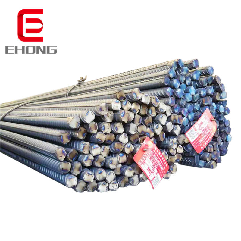Iron rod for building construction, deformed steel bar, hot rolled steel rebar