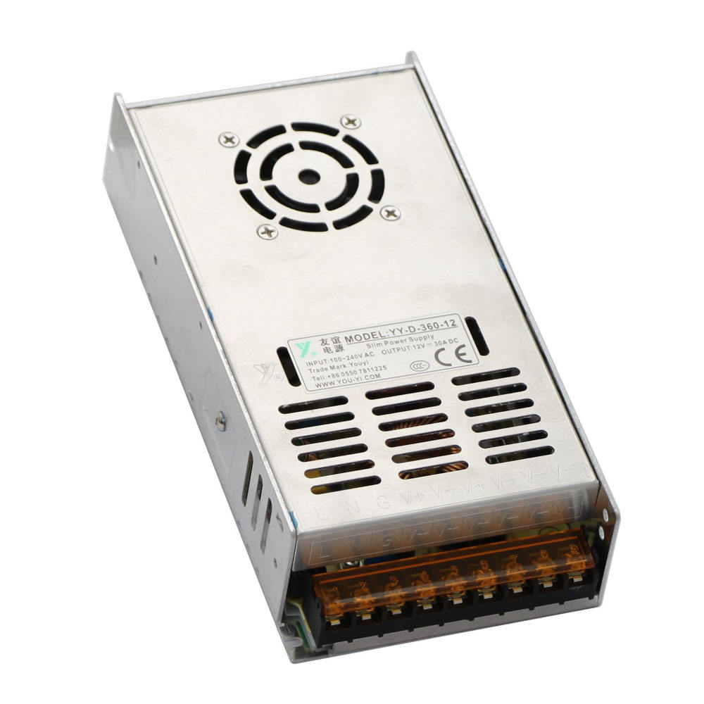400W Rack Mount CCTV Power Supply Regulated 16 Port 33 Amp 12V DC Output 33A 1U+