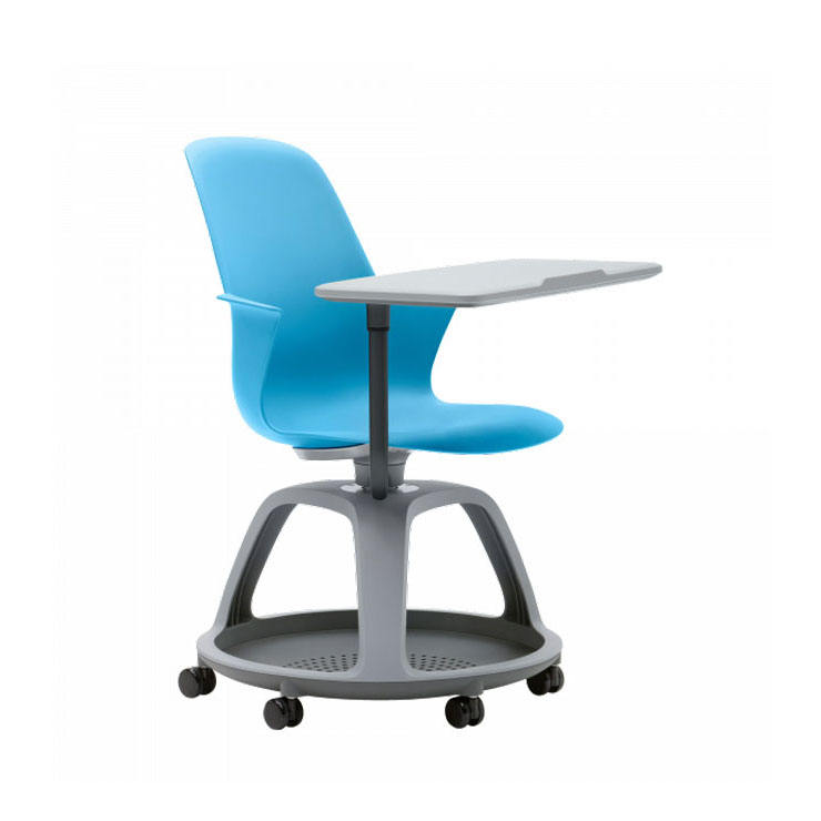 Hot sale steelcase node chair swivel college chair with writing table