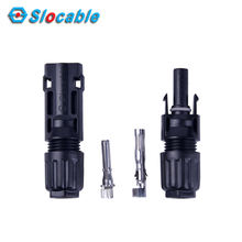 Slocable 1000V 1500V IP68 Waterproof Compatible Crimp Connection Parallel Connector