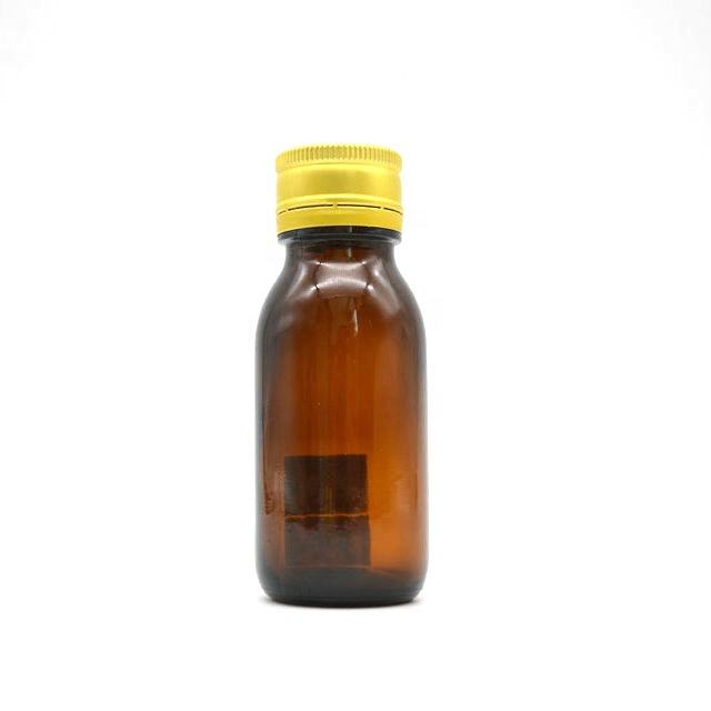 60ml syrup amber glass bottle and glass bottles for maple syrup for pharmaceutical