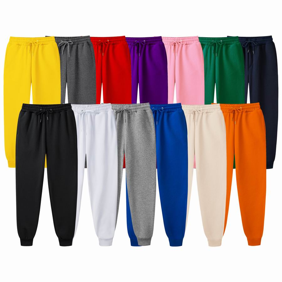 Wholesale Worsted 100% Cotton Extended Sweatpants