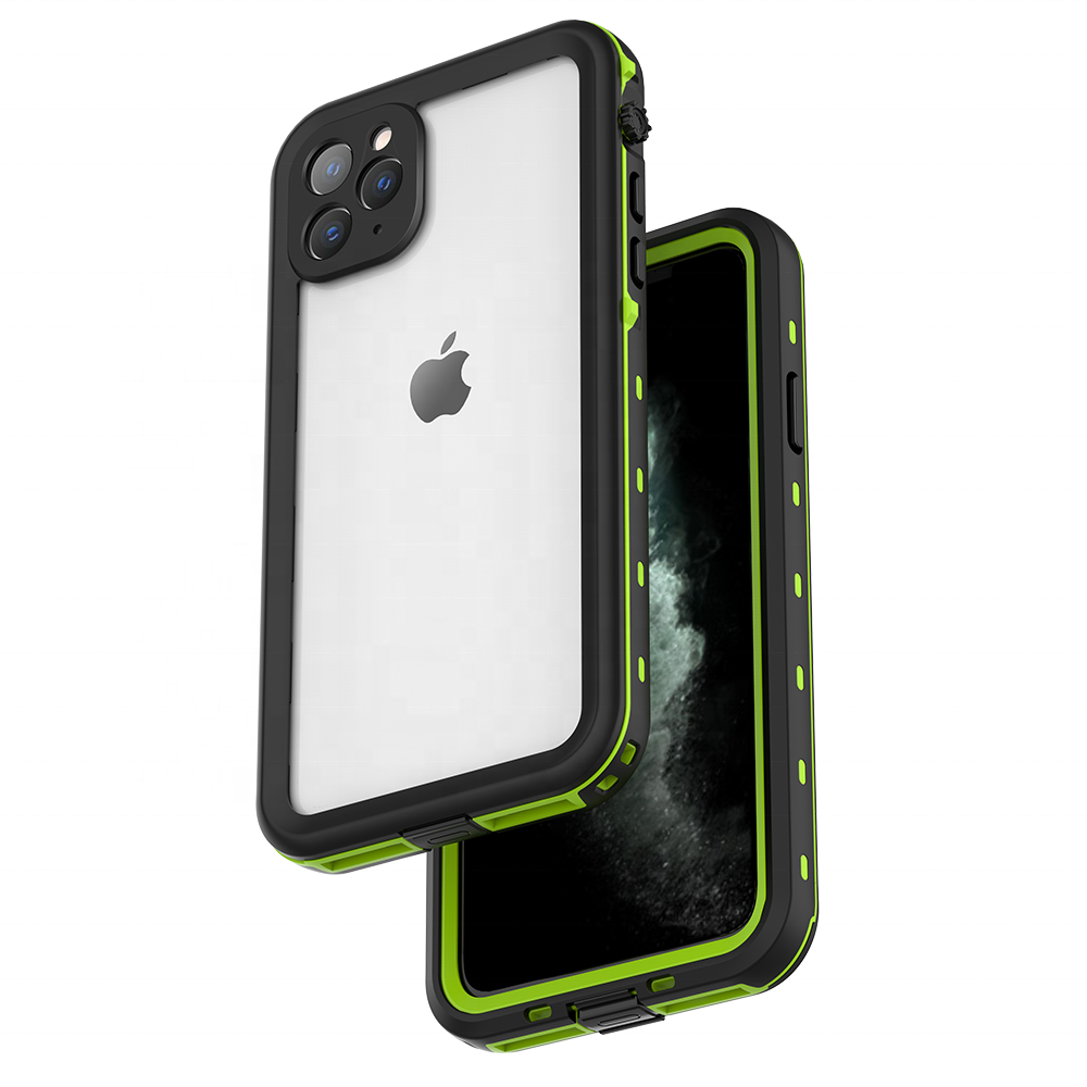 ZHIKE Universal Custom Clear Back Mobile Phone Accessory Full Protection Waterproof Phone Cover for iPhone 11 Pro Max