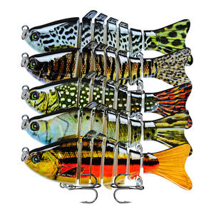 Hard ABS Peche Pesca Isca 10cm 15.5g 7 Segmented lure multi-joint swimbait fish lure segment fishing lures