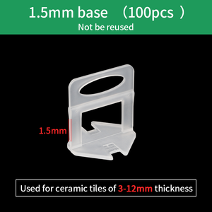 Plastic Bases Level Wedges Spacers Ceramic Tile Leveling System Floor Tile Leveler One-stype Hand Tool for wall