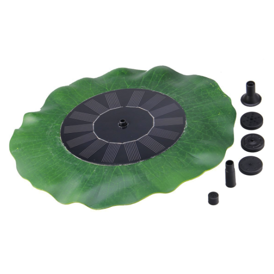 New solar powered water fountain outdoor garden pond decoration floating water feature decorative fountain solar energy kit